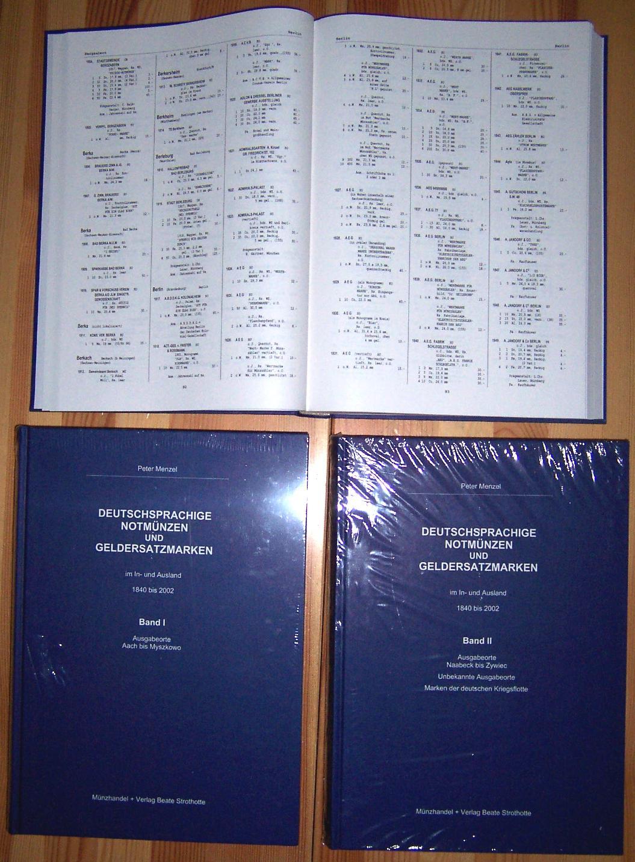 Menzel deutsche notm nzen catalogue 2 volumes sans frais - Tirage photos gratuits sans frais de port ...